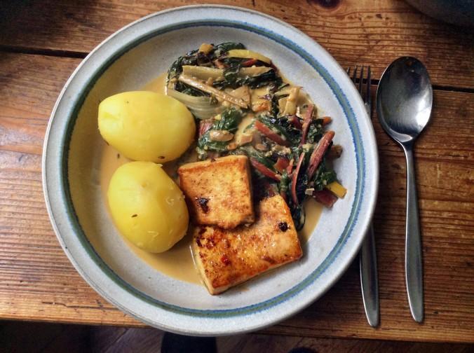 Mangold-Tofu-Kartoffeln -15.9.15 (1)