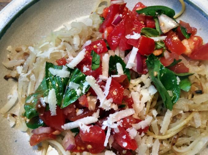 Zucchini Spaghetti,Keka, - 6.9.15 (12)