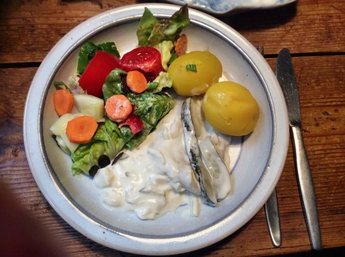 Marinierter Hering,gemischter Salat,Kartoffeln - 7.10.15   (6)