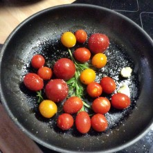 Selbstgemachte Nudeln,Costa Prawns,Salat, - 27.10.15 (1aa) (7)
