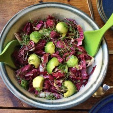 Selbstgemachte Nudeln,Costa Prawns,Salat, - 27.10.15 (1aa) (8)