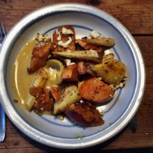 Pastinaken,Kartoffel Pfanne,Orangensoße - 10.11.15 (2a) (11)