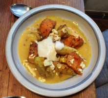 Pastinaken,Kartoffel Pfanne,Orangensoße - 10.11.15 (2a) (12)