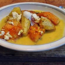 Pastinaken,Kartoffel Pfanne,Orangensoße - 10.11.15 (2a) (12a)