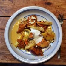 Pastinaken,Kartoffel Pfanne,Orangensoße - 10.11.15 (2a) (14)