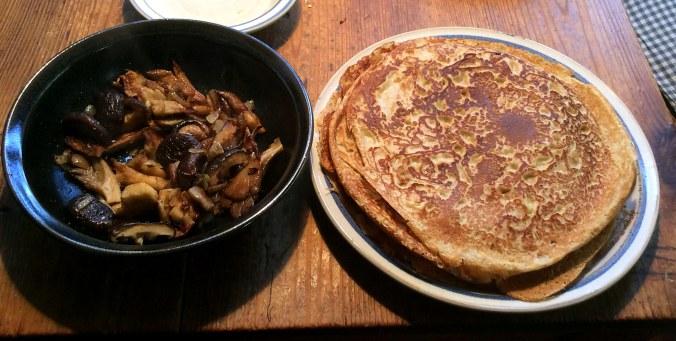 Pfannkuchen ,Pilze,Salat,Obstsalat -21.11.15   (11)