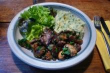 30.1.16 - Pilze,Kartoffelstampf,Salat,vegetarisch (15)