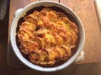 8.1.16 - Kartoffelgratin,Pak Choi,Endiviensalat,vegetarisch (9)