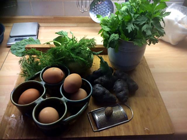 9.1.16 - Kohlrabigemüse,Tassenei,Kartoffeln (3)
