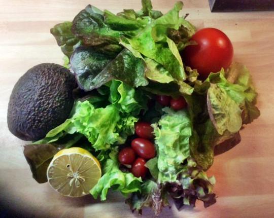 19.2.16 - Marinierter Hering,Kartoffeln,Salat (2)