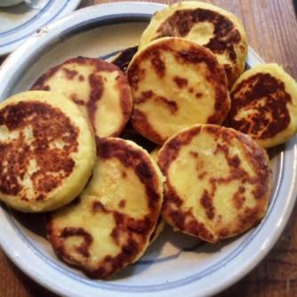 23.2.16 - Kartoffeltaler,Salate,pochiertes Ei,vegetarisch (5)