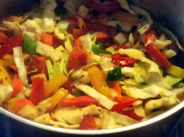 12.3.16 - Kichererbsen-Gemüse Eintopf,Indische Art,vegan (10)