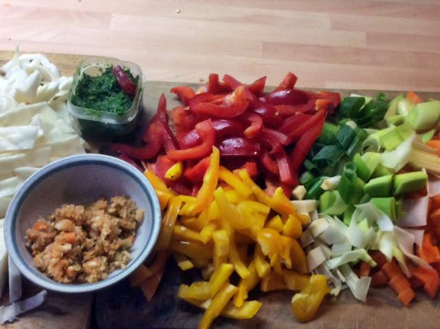 12.3.16 - Kichererbsen-Gemüse Eintopf,Indische Art,vegan (7)