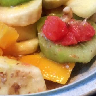 13.3.16 - Focaccia,Hummus,Salat,Obstsalat,vegan (25)
