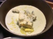 17.3.16 - Spaghetti mit Gorgonzolasauce,Chiccore Salat (6)