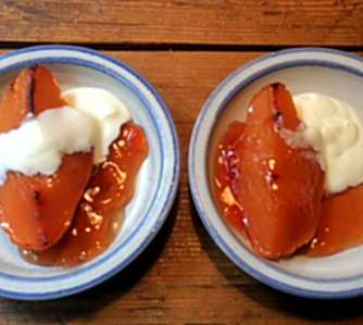 20.3.16 - Kartoffelsalat,pchiertes Ei,Quitten Dessert,vegetarisch (20)