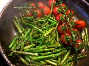 23.3.16 - Gnocchis,grüner Spargel,Pimientos,Tomaten (10)
