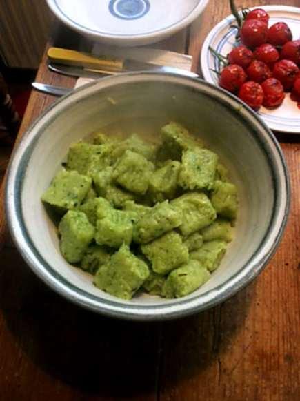 23.3.16 - Gnocchis,grüner Spargel,Pimientos,Tomaten (12)