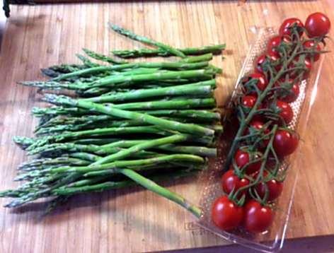 23.3.16 - Gnocchis,grüner Spargel,Pimientos,Tomaten (3)
