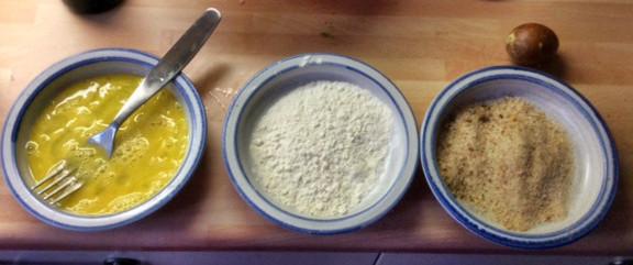 3.3.16 - Gebratener Feta,Feldsalat,Guacamole,vegetarisch (5)