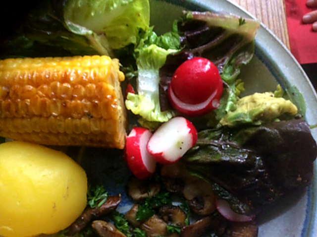 Champignon,Mais,Salat,Kartoffel (12)