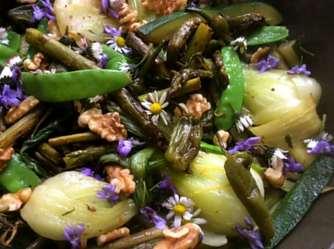 22.4.16 - Grünes Gemüse,Bulgur,Joghurtdip (12)
