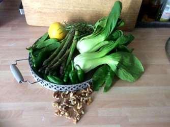 22.4.16 - Grünes Gemüse,Bulgur,Joghurtdip (3)