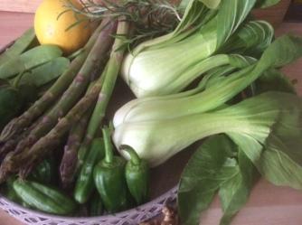 22.4.16 - Grünes Gemüse,Bulgur,Joghurtdip (4)