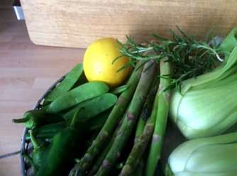 22.4.16 - Grünes Gemüse,Bulgur,Joghurtdip (5)