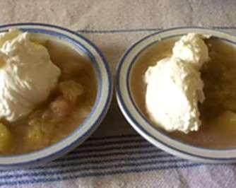 24.4.16 - Gierschgemüse,Ravioli,Bärlauchpesto,Rhabarberkompott,vegetarisch (18)