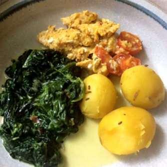 26.4.16 - Spinat,Rührei,Kartoffeln,vegetarisch (15)