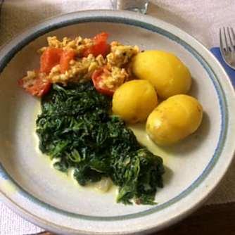 26.4.16 - Spinat,Rührei,Kartoffeln,vegetarisch (16)