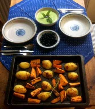 28.4.16 - Ofenkartoffeln,Feta-Bärlauchcreme (10)
