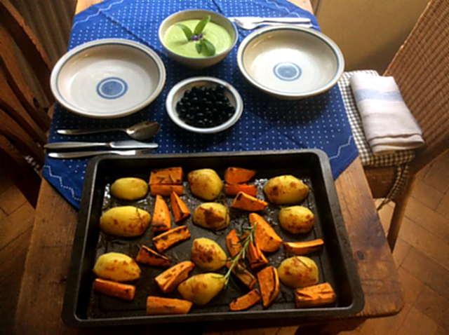28.4.16 - Ofenkartoffeln,Feta-Bärlauchcreme (2)