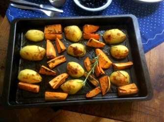 28.4.16 - Ofenkartoffeln,Feta-Bärlauchcreme (9)