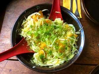 29.4.16 - Kartoffelgratin,grüner Spargel,Fenchelsalat (14)