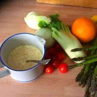 29.4.16 - Kartoffelgratin,grüner Spargel,Fenchelsalat (6)