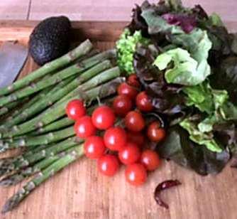 5.4.16 - Grüner Spargel,Salat,Ofenkartoffeln (3)