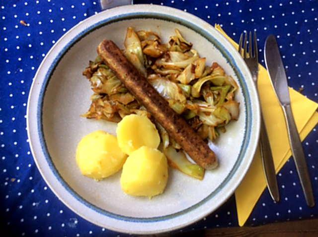 10.5.16 - Spitzkohl,Kartoffel,Veggie Würste (11)