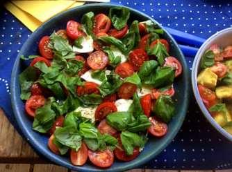 11.6.16 - Grüner Spargel,Ofenkartoffeln,Tomaten,Avocado,vegetarisch (7)