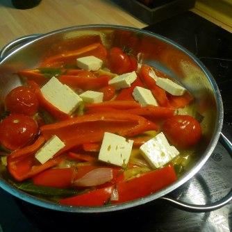 31.5.16 - Paprikapfanne,Zucchini,Süßkartoffelstampf (9)