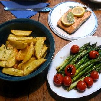 15.6.16 - Lachs,Spargel,Kartoffel,Erdbeeren (14)
