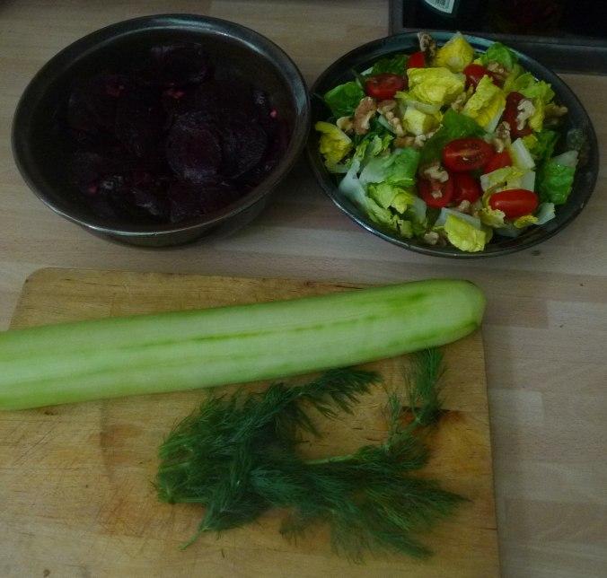20.6.16 - Salate,Feta,Kartoffeln,Dessert (3)