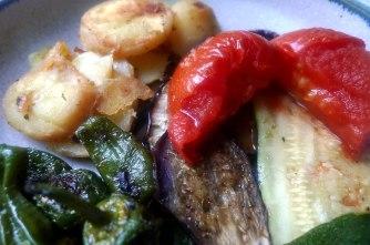 30.6.16 - Ofengemüse,Pimientos,Bratkartoffeln (14)