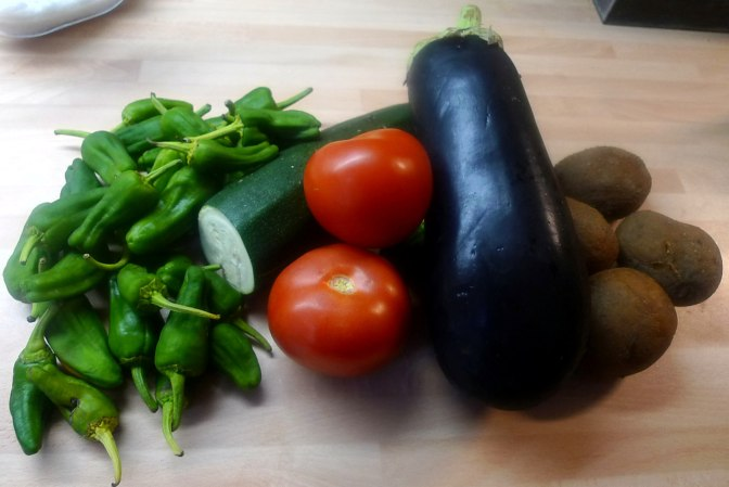30.6.16 - Ofengemüse,Pimientos,Bratkartoffeln (4)