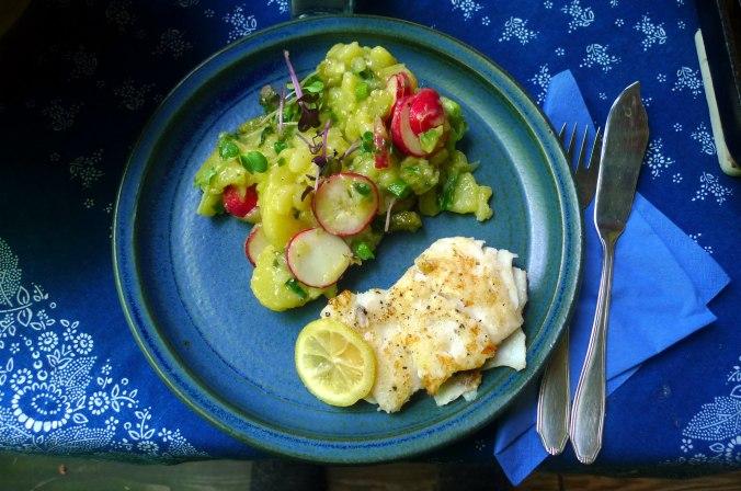 5.6.16 - Kabeljau,Kartoffelsalat (1)