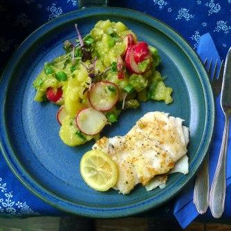 5.6.16 - Kabeljau,Kartoffelsalat (10)