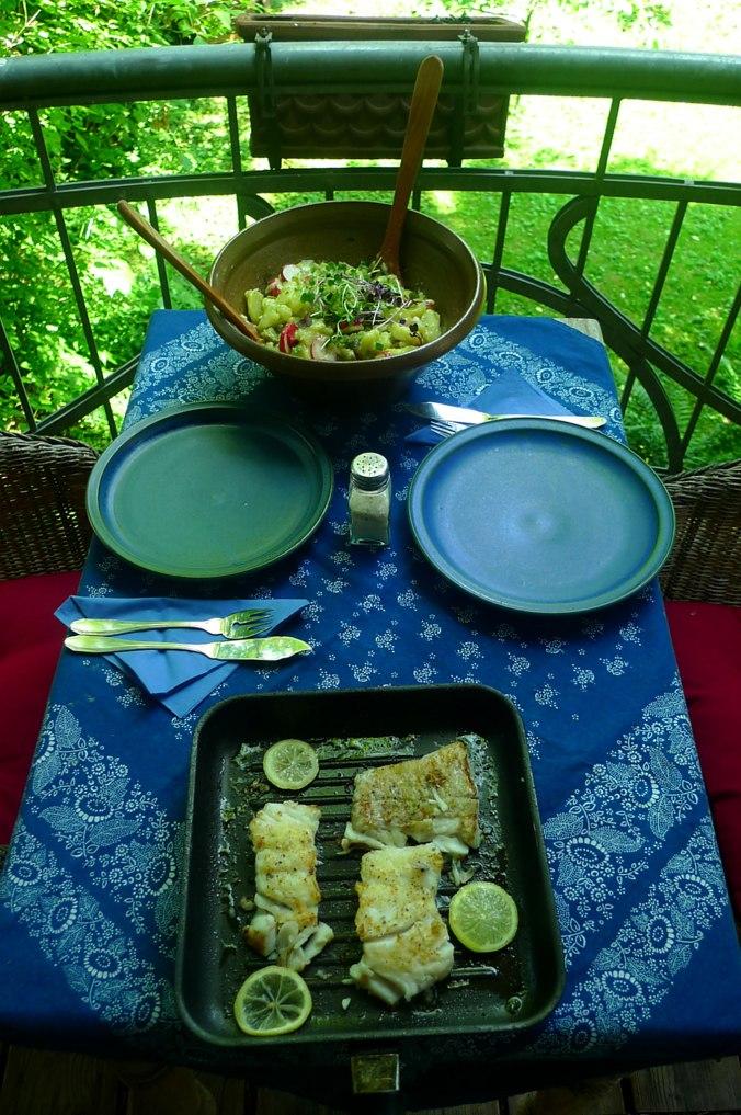 5.6.16 - Kabeljau,Kartoffelsalat (1a)