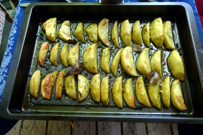 6.6.16 - Zitronenkartoffeln,Forelle,Salat (1)