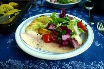 6.6.16 - Zitronenkartoffeln,Forelle,Salat (14)